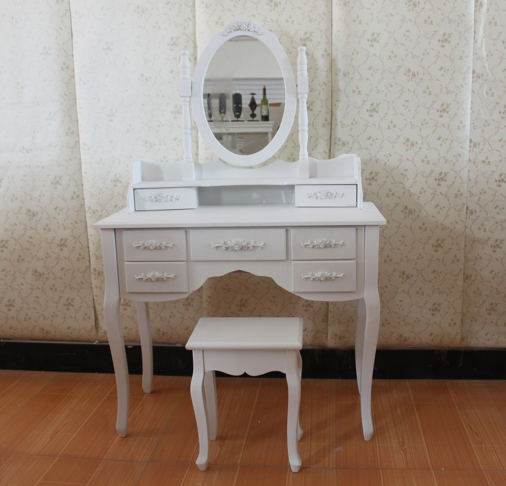 White Dressing Room Table Mirror Stool Create Dressing Table With Mirrored Dresser