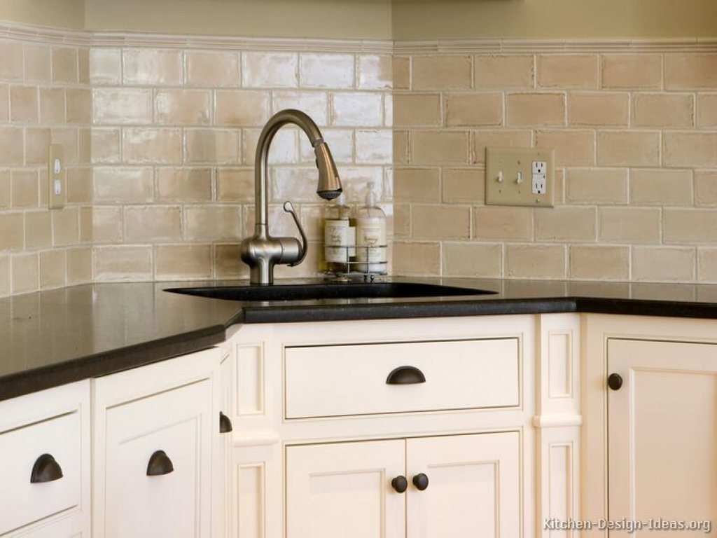 White Kitchen Tiling Ideas Beveled Subway Tile Subway Ideas For Backsplash Ideas With Dark Cabinets