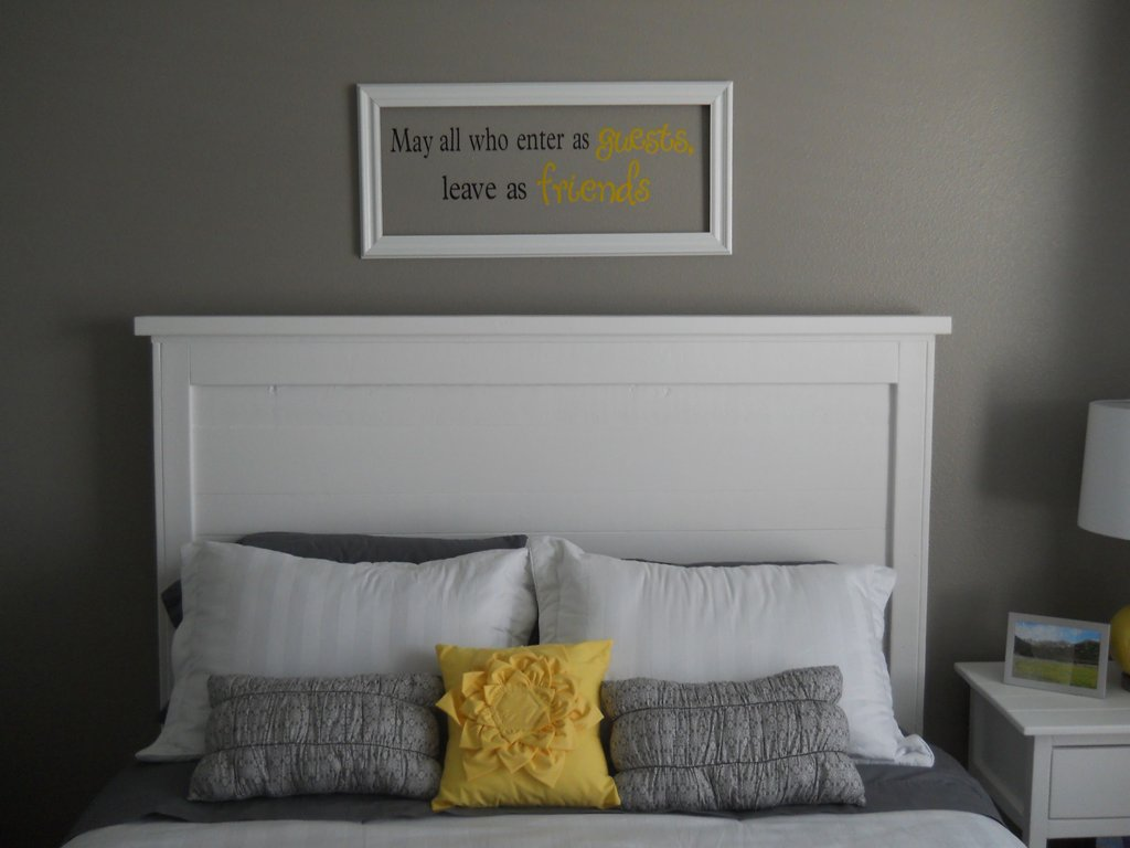 White Wooden Headboard Double Architecture Trendy Idea Guideline To DIY Tufted Headboard