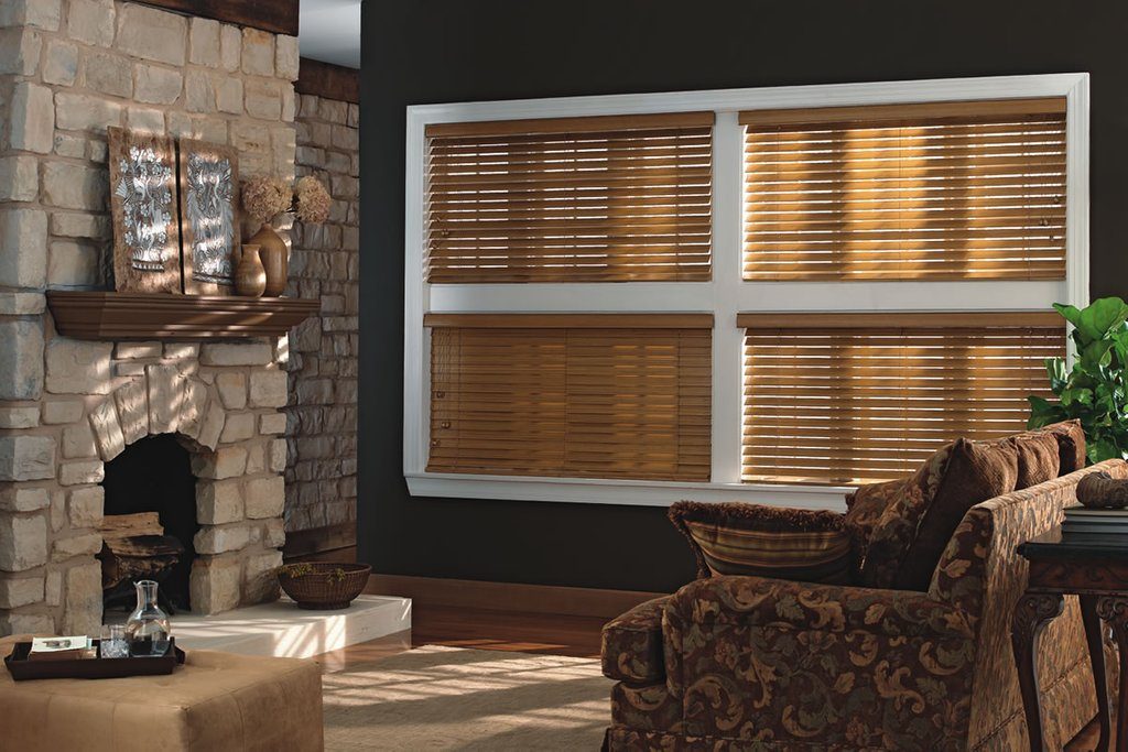 Wood Blind Drapery Connection Removing Slats Faux Wood Blinds