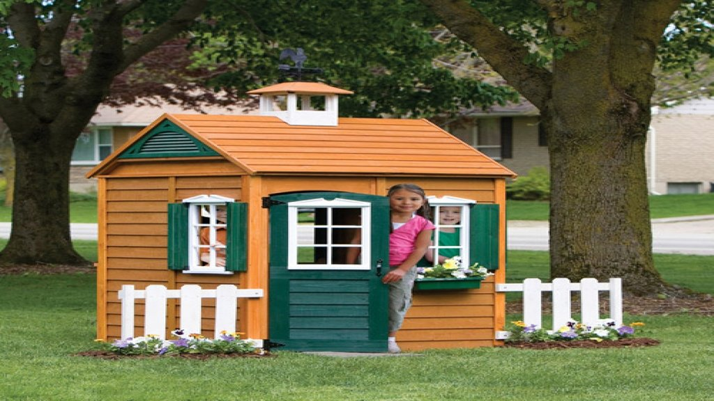 Wooden Backyard Playhouse 28 Image Backyard Outdoor Wooden Playhouse With Slide