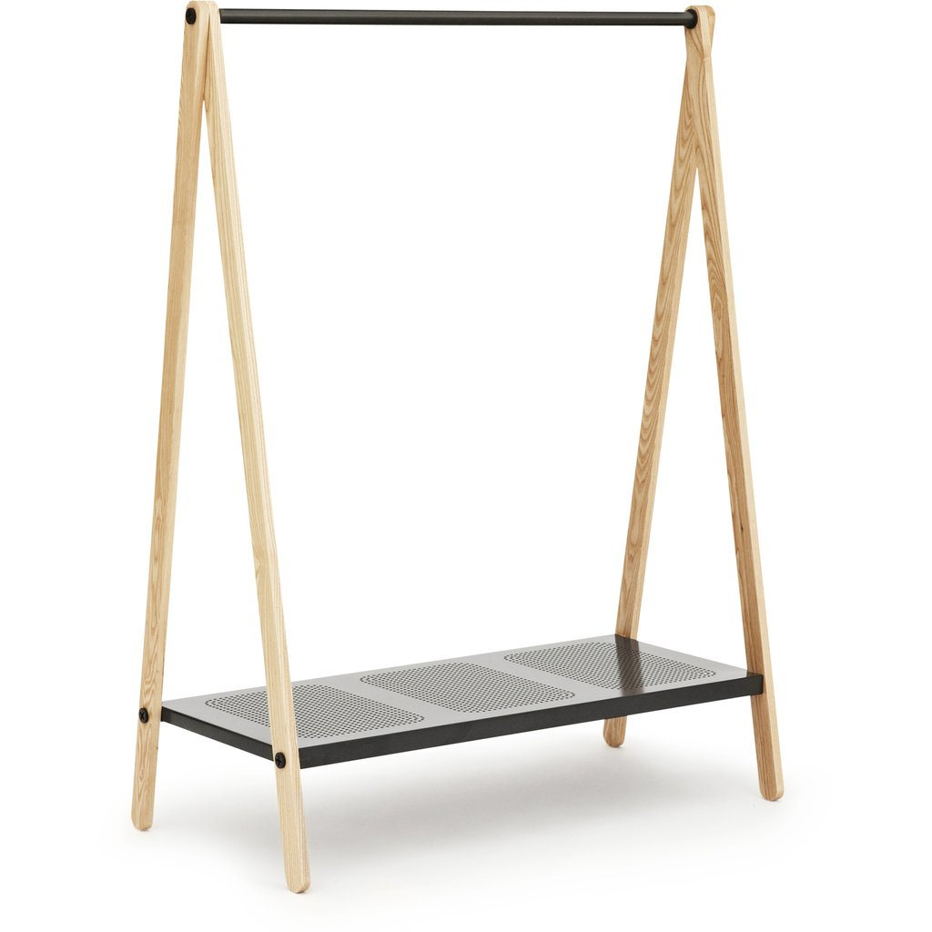 Wooden Cloth Rack Modern Clothing Rack Zamp Interior Ideas For Wooden Clothes Rack