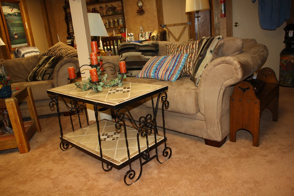 Wrought Iron Living Room Furniture Home Inspiration How To Restore Wrought Iron End Tables