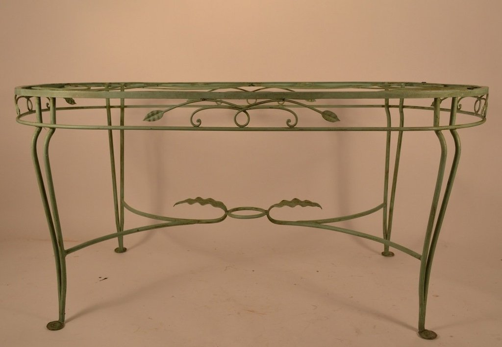Wrought Iron Table Copper Top Pedestal Dining Table 48 How To Restore Wrought Iron End Tables