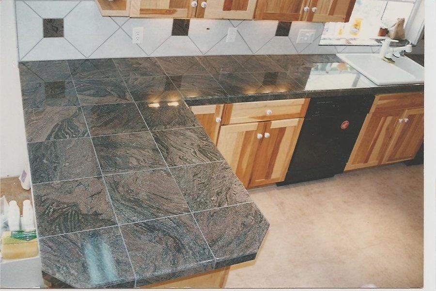 12x12 Granite Tile Design Ideas