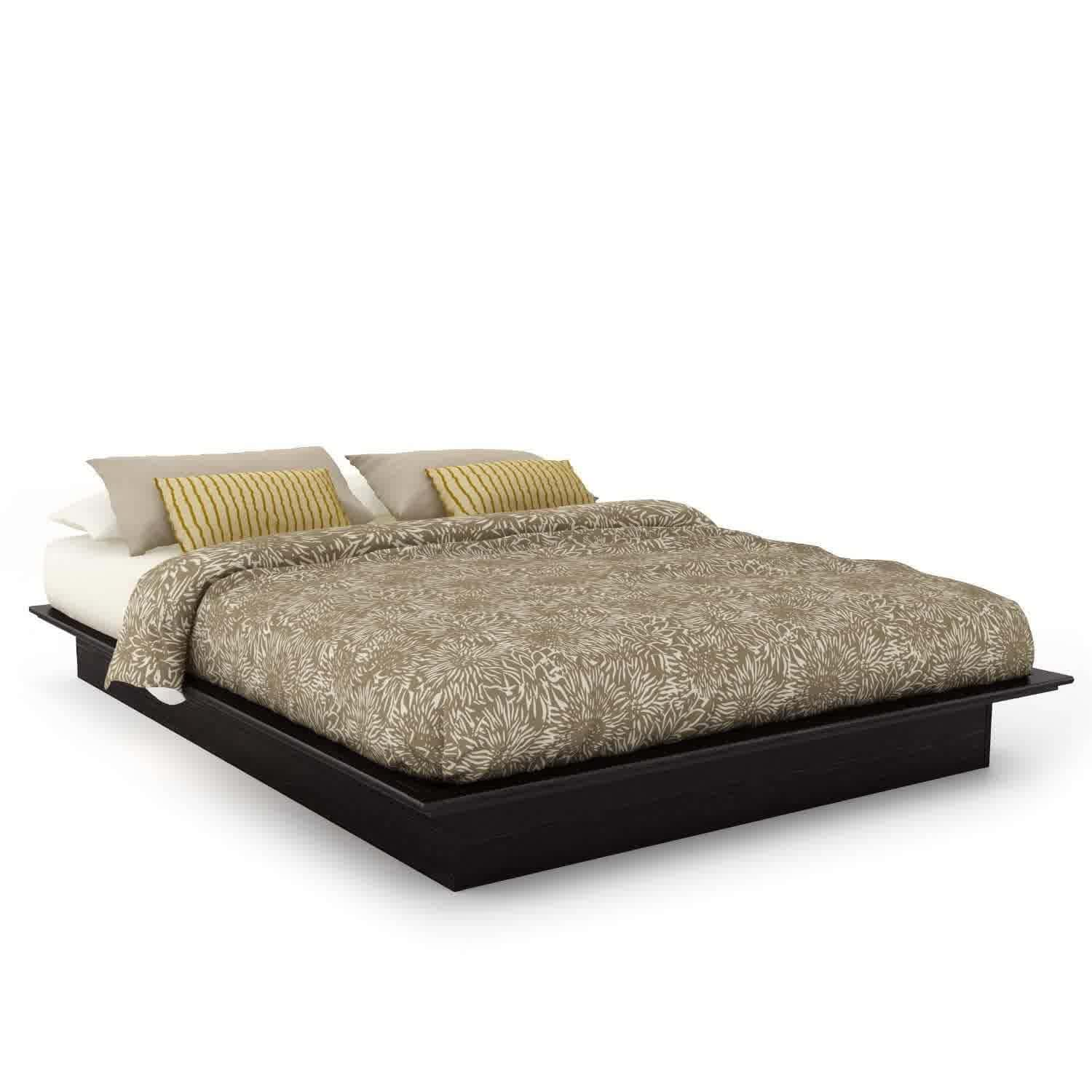 Contemporary Solid Wood Platform Bed Loccie Better Homes