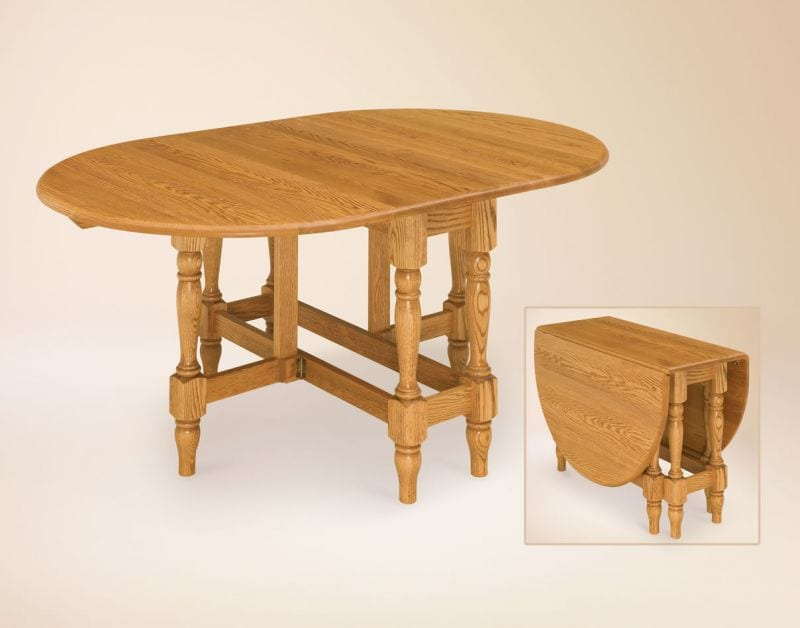 Antique Gateleg Table Design