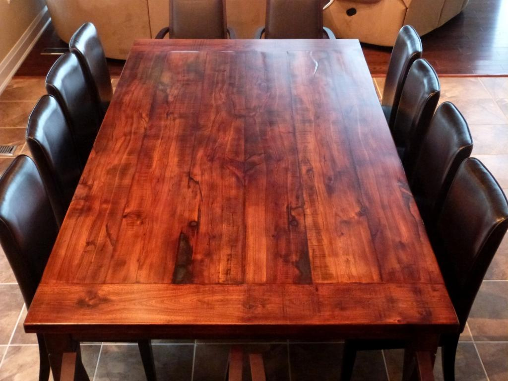 Awesome Reclaimed Wood Ddining Room Table