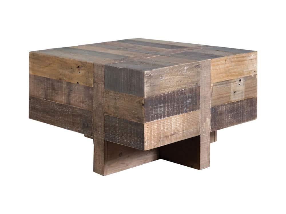 Awesome Reclaimed Wood Side Table