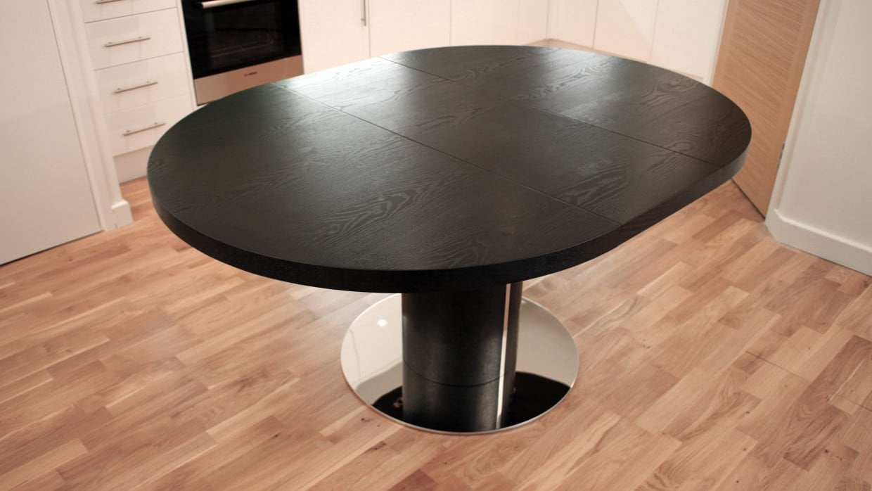 Awesome Round Extendable Dining Table