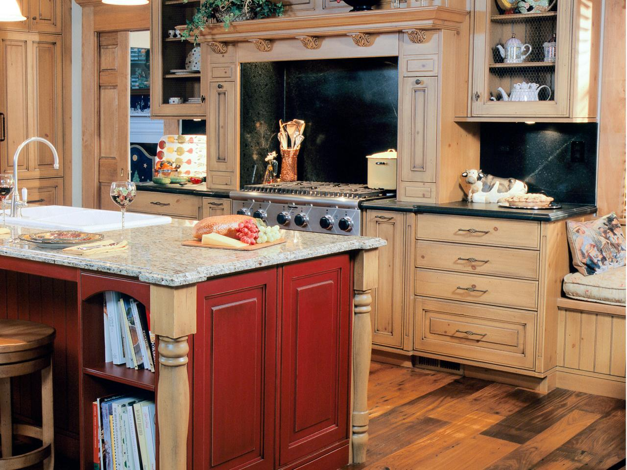 Awesome Staining Kitchen Cabinets