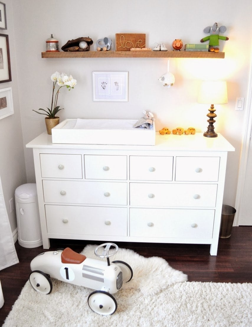 Baby Changing Table Topper