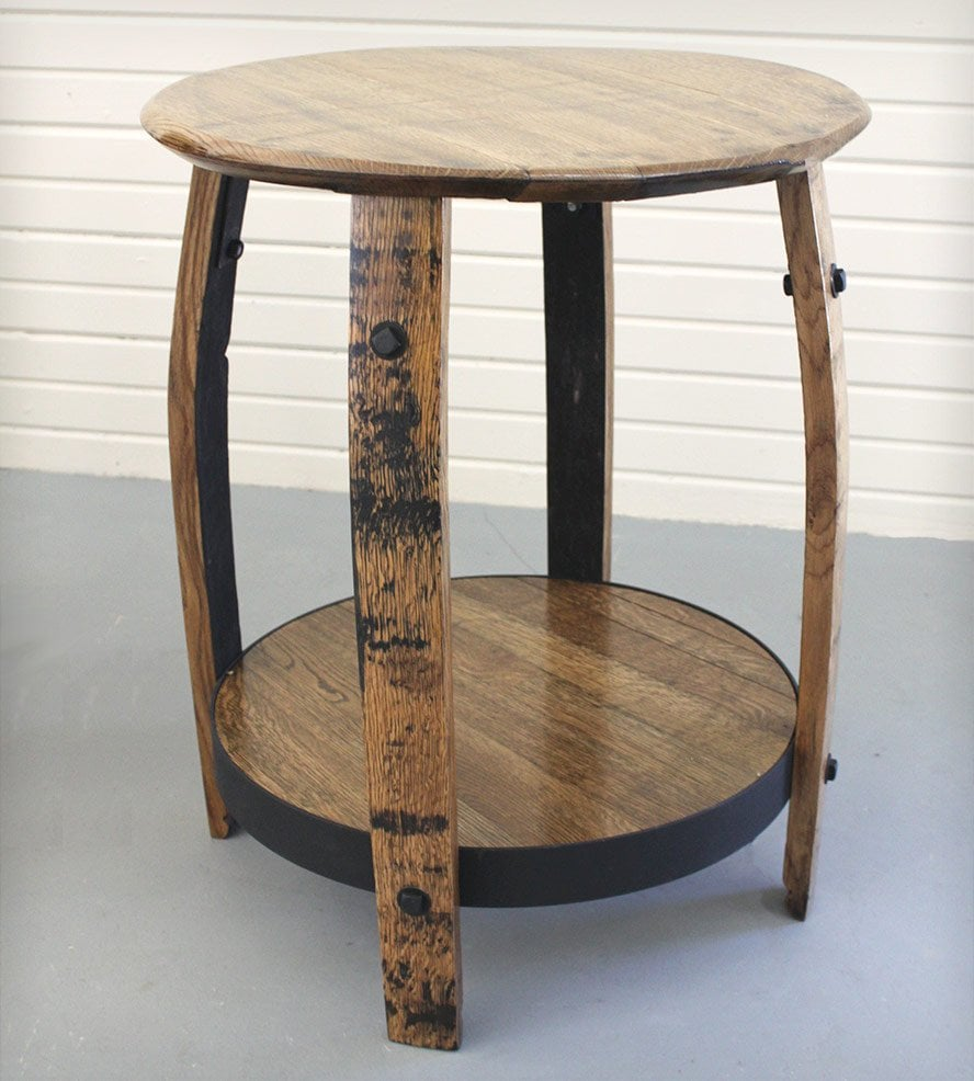 Stunning Barrel End Table Ideas