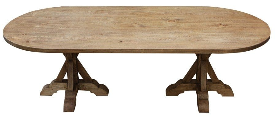 Best Double Pedestal Dining Table