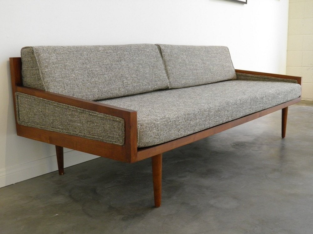 Best Mid Century Leather Sofa