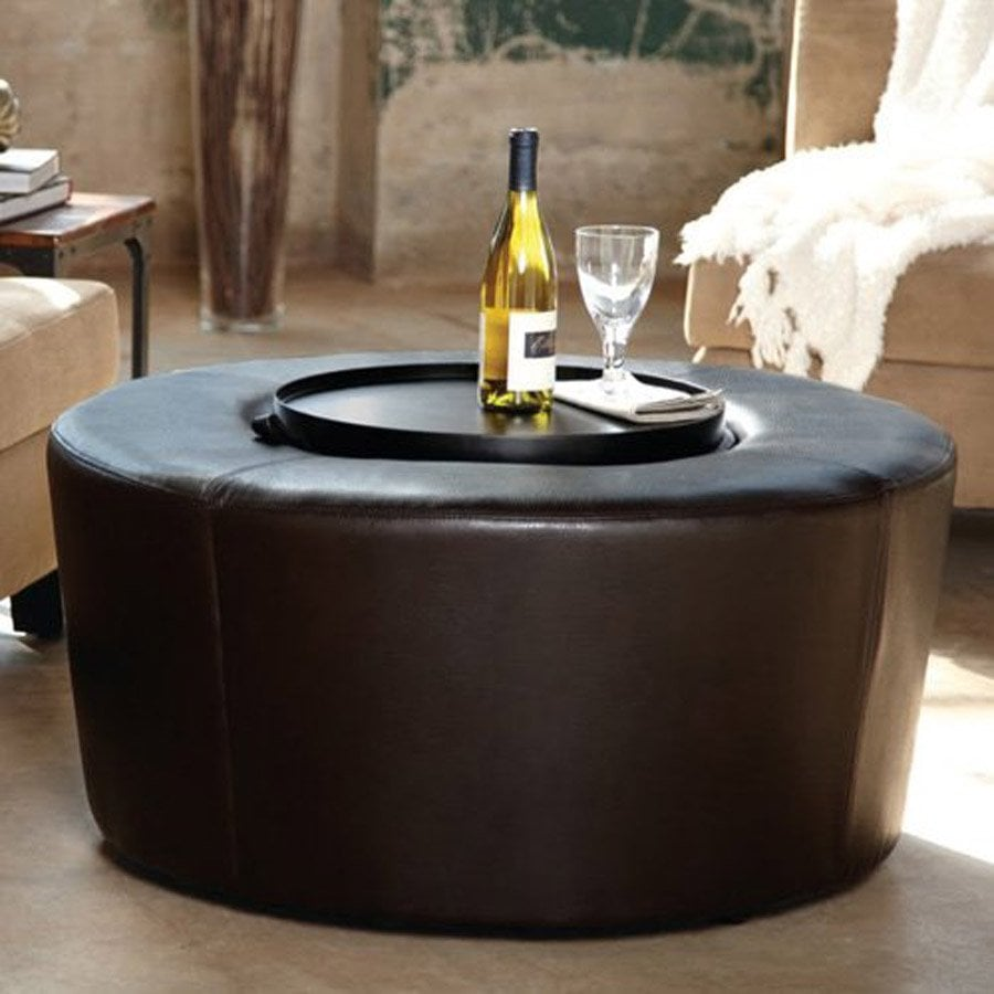Best Round Ottoman Coffee Table