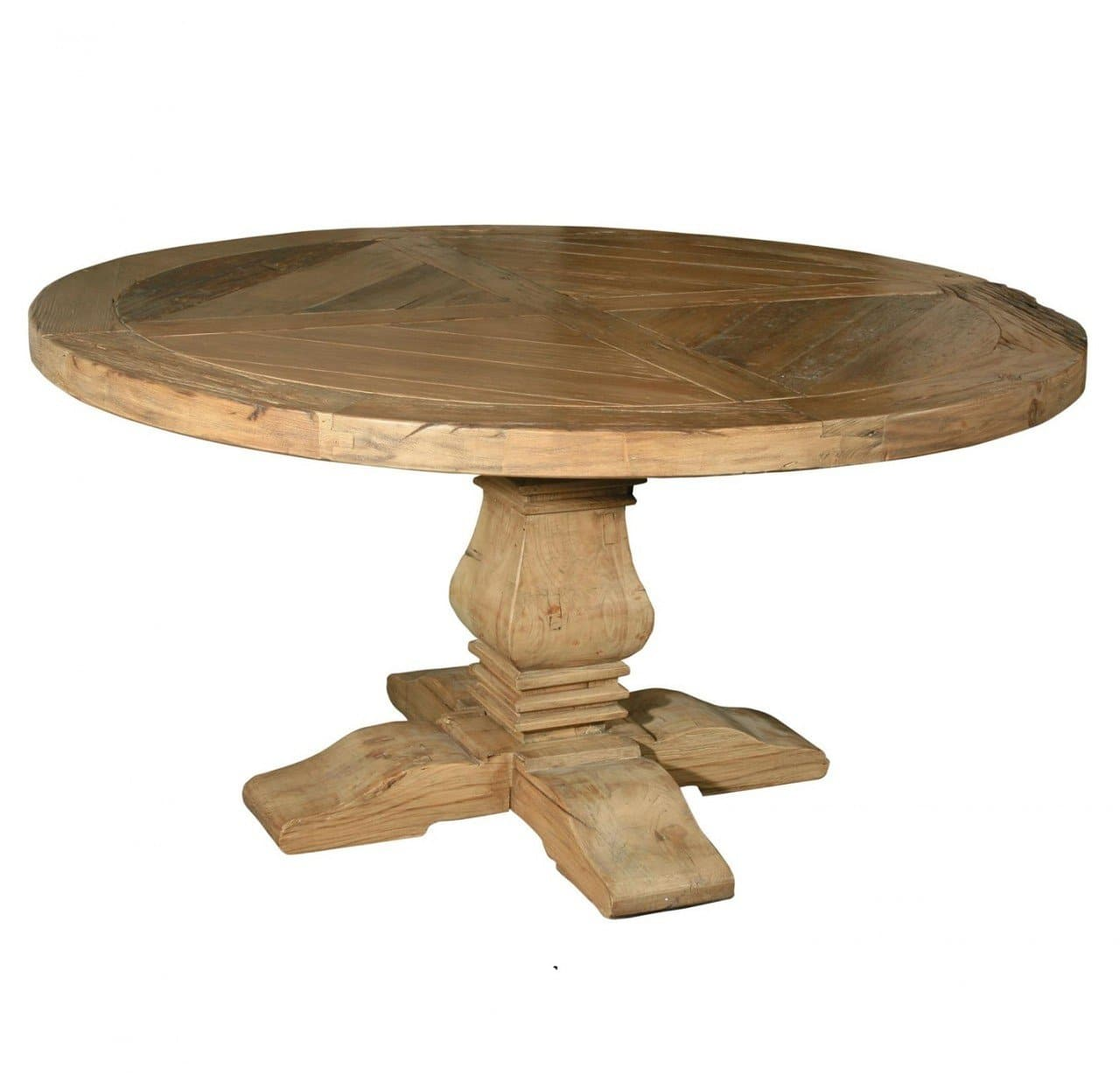 Best Old Round Pedestal Dining Table