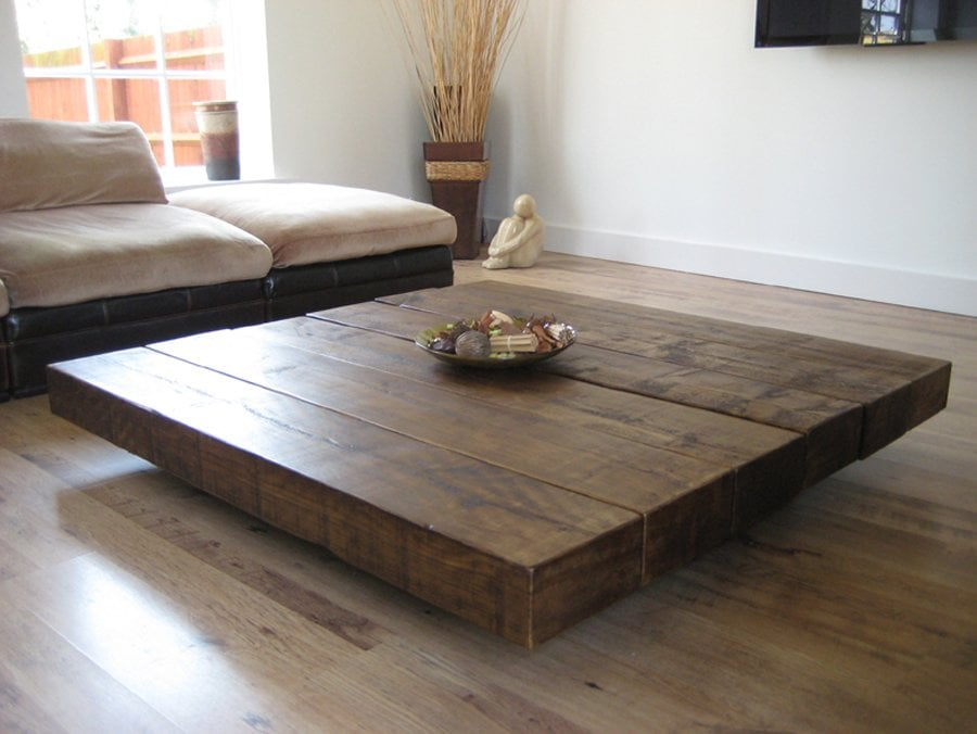 Best Rustic Square Coffee Table