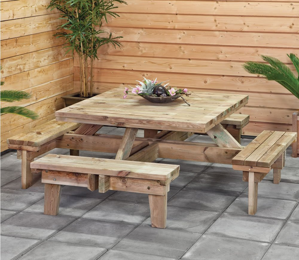 Best Square Picnic Table