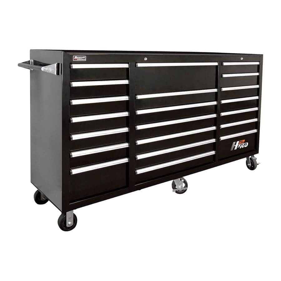 Black Rolling Tool Cabinet