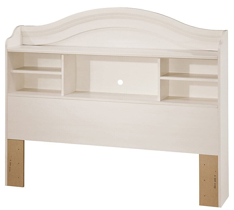 Bookcase Headboard Bed