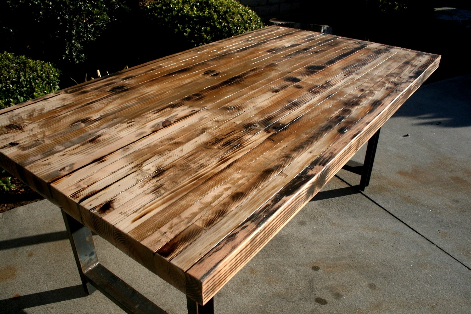 Butcher Block Kitchen Table Set