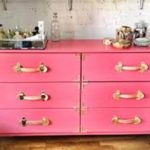 Pink Campaign Dresser Pottery Barn