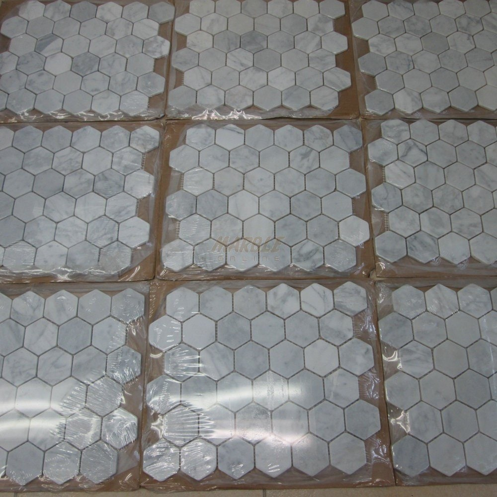 Carrara Marble Tile Trim