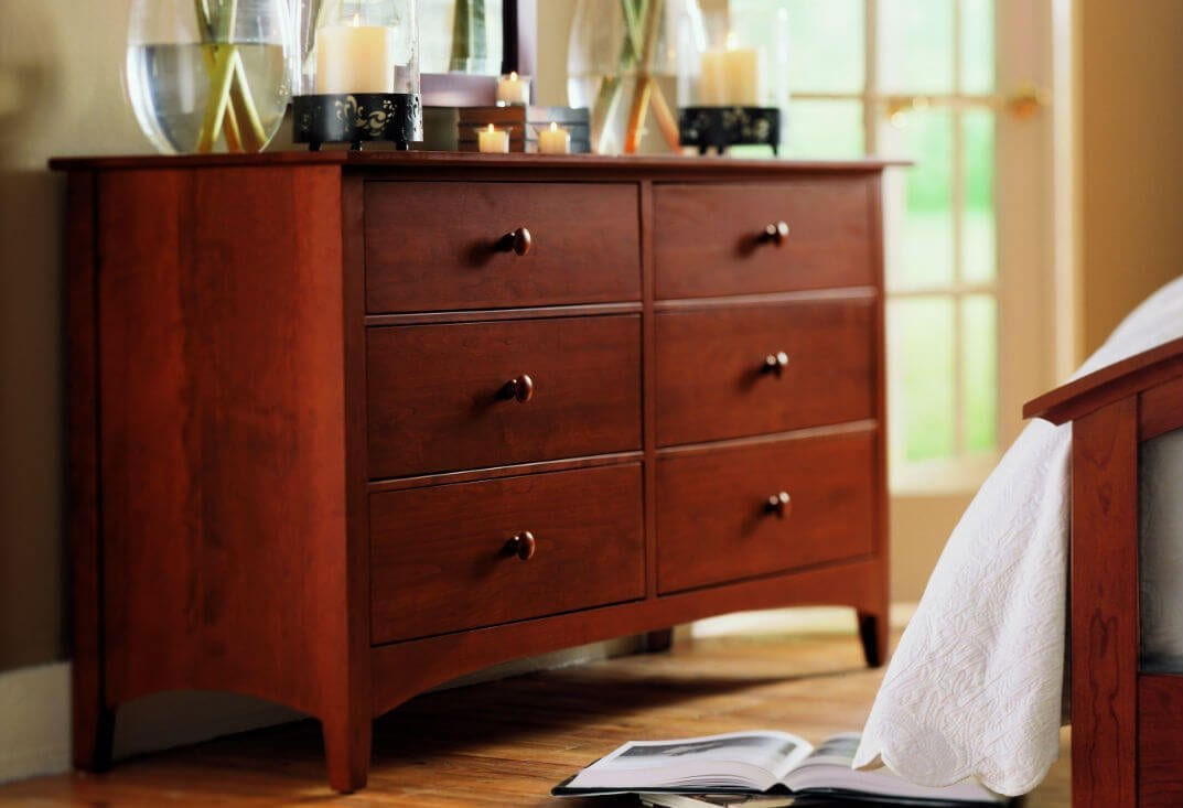 Nice Cherry Wood Dresser Furniture Design