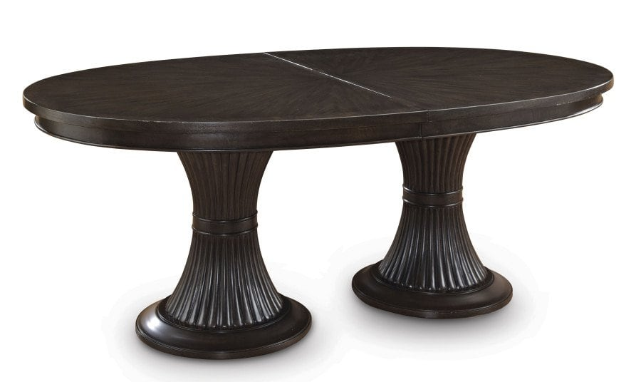 Classic Double Pedestal Dining Table