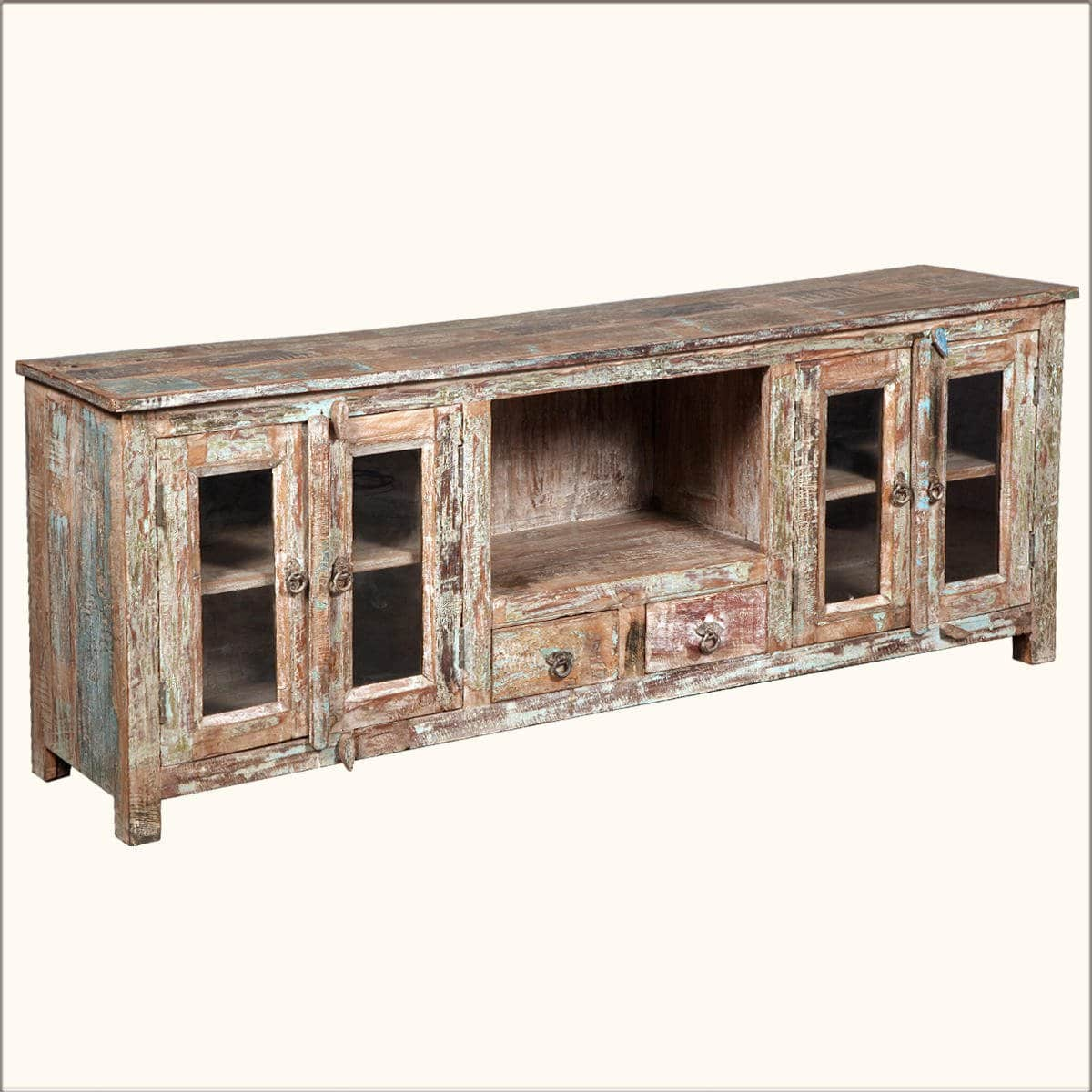 Classic Reclaimed Wood Media Console