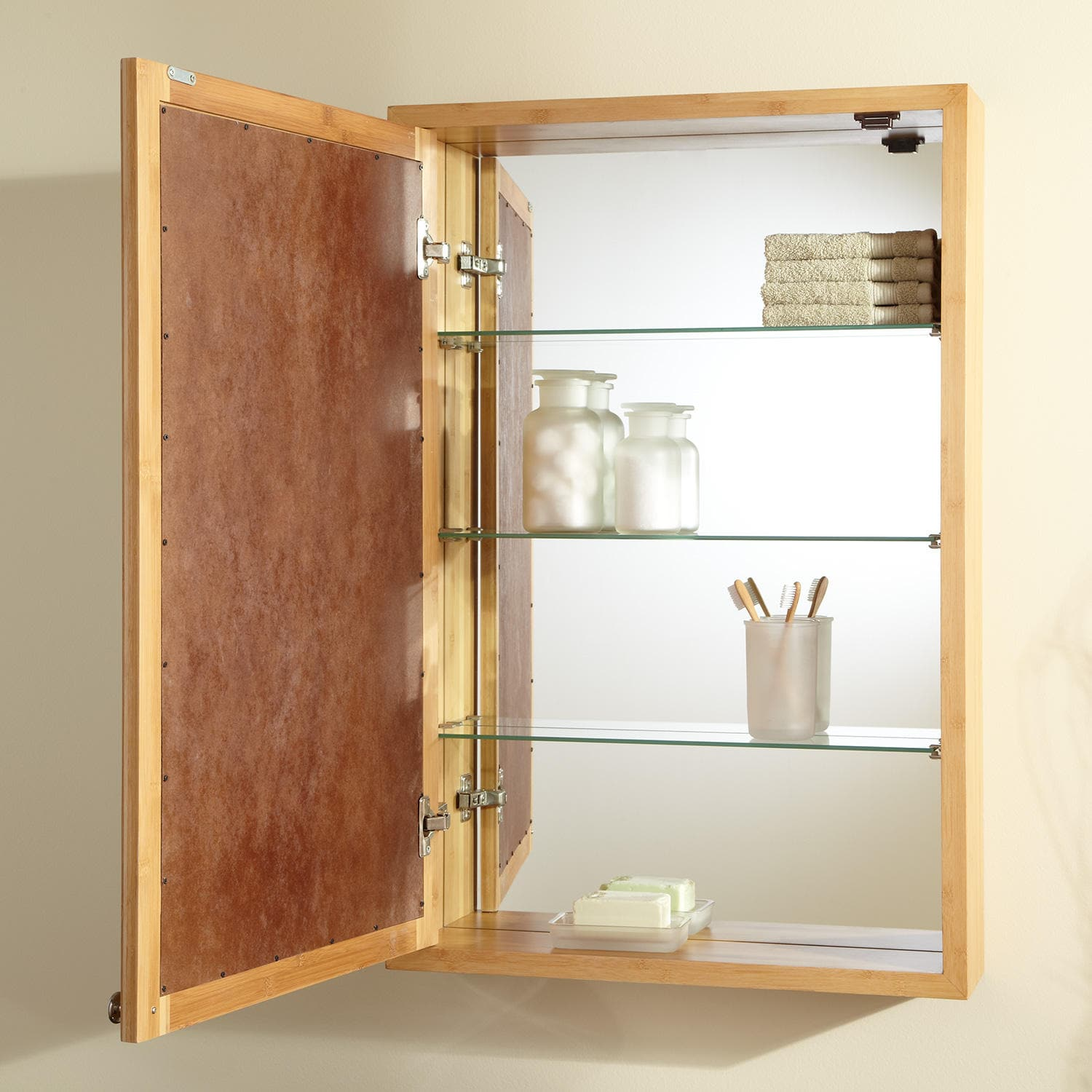 How To Build Wooden Medicine Cabinets – Loccie Better ...