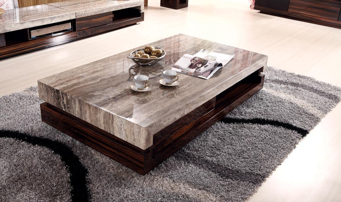 Coffee Marble Table Tops