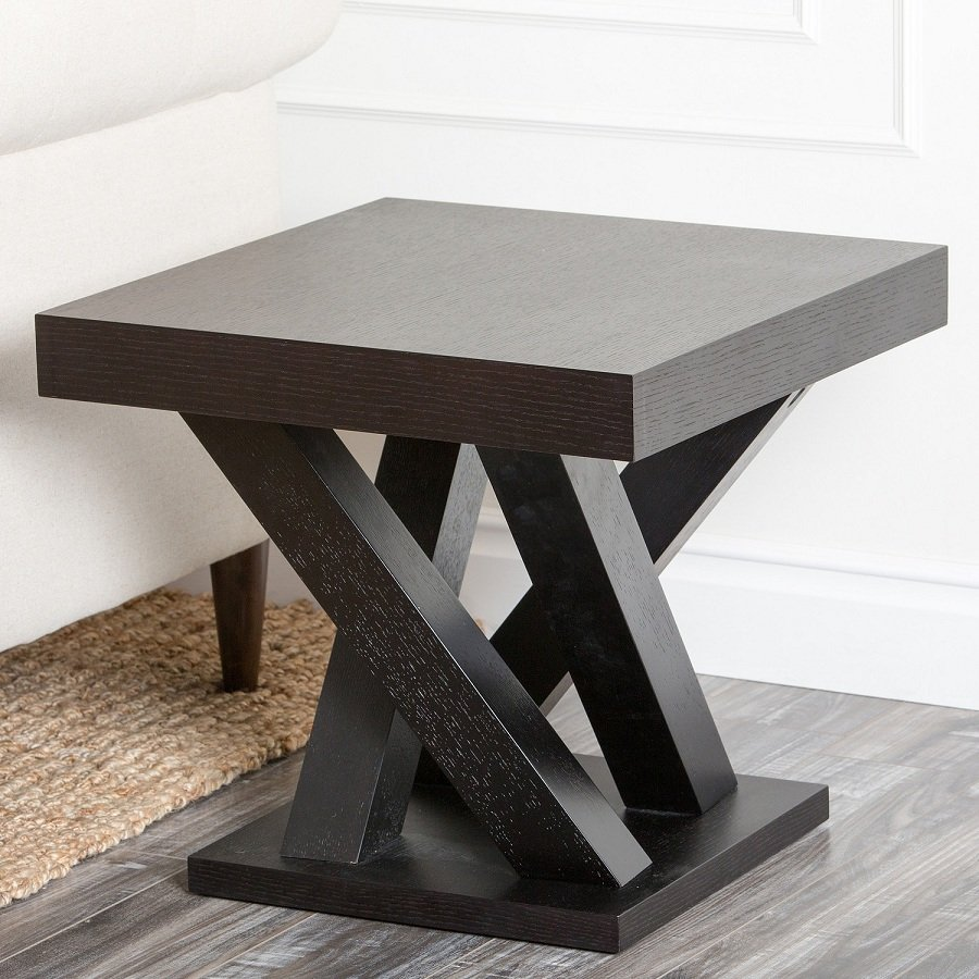 Concept Espresso End Table