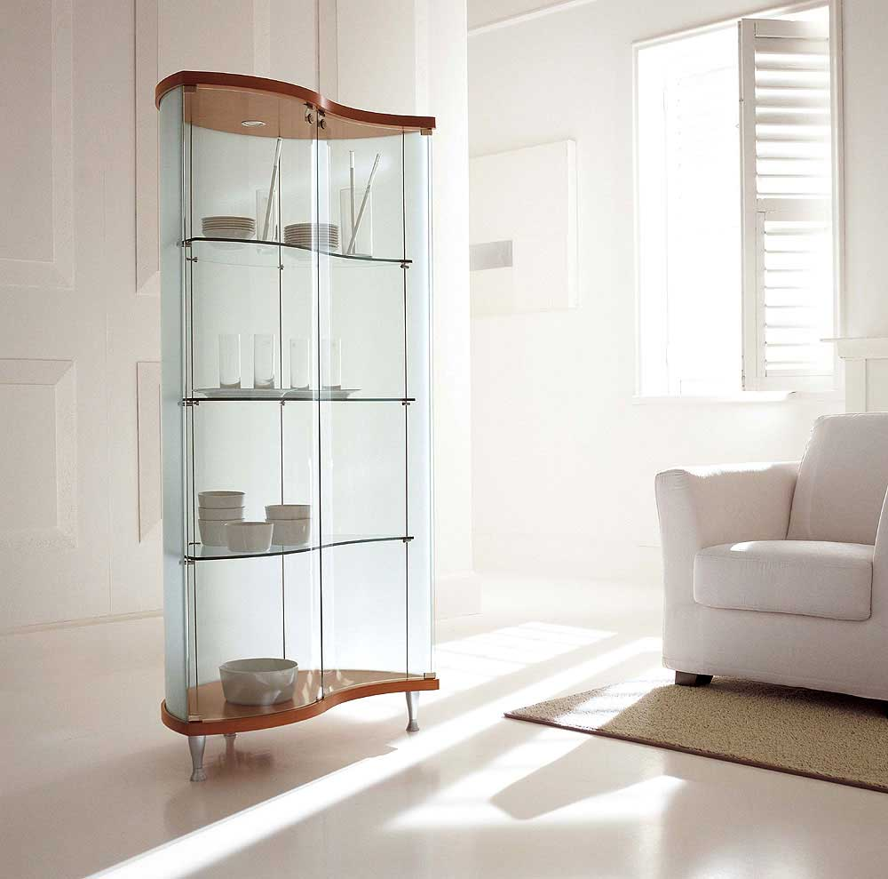Contemporary Curio Cabinets