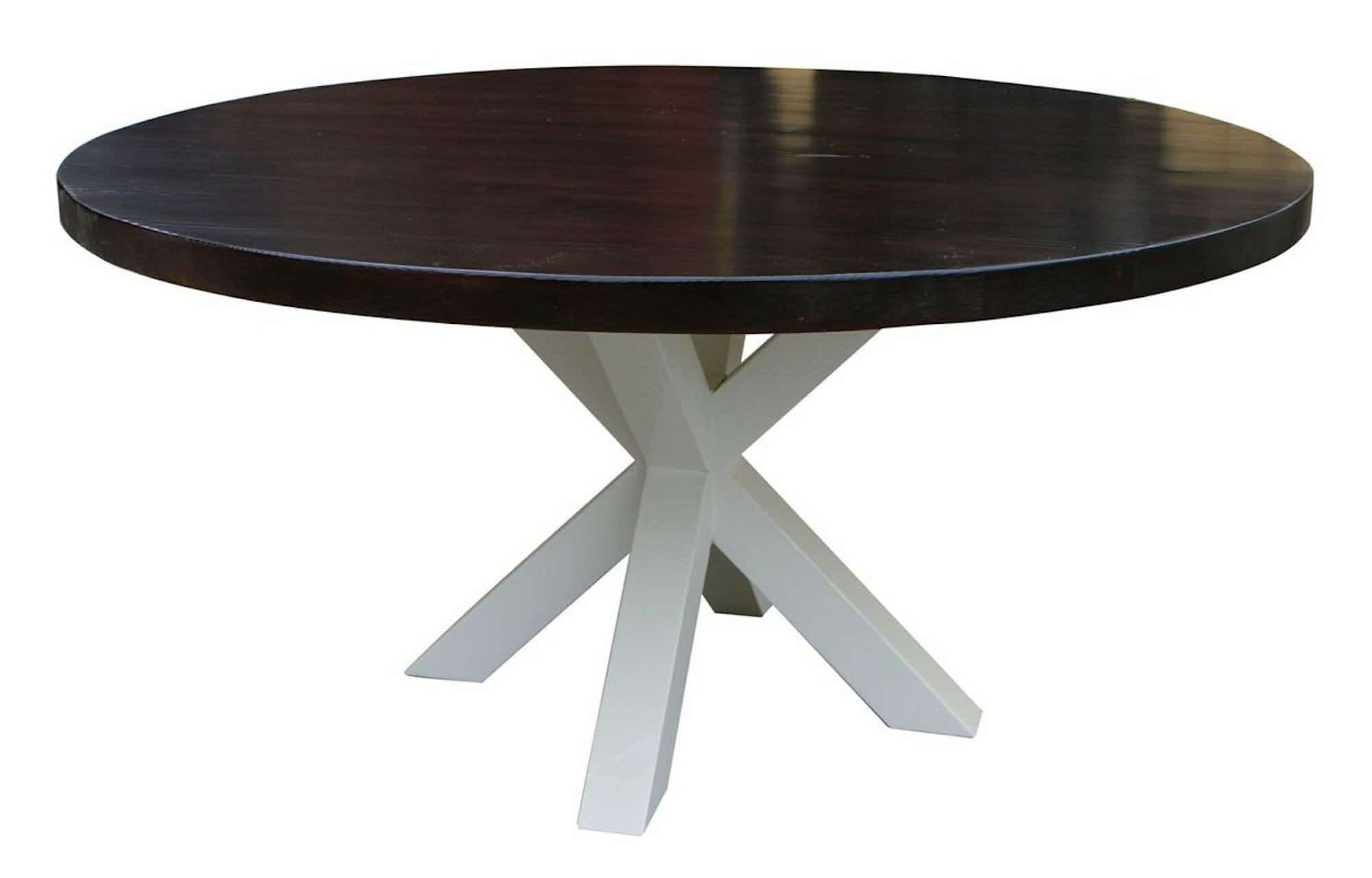 Contemporary Pedestal Table Base