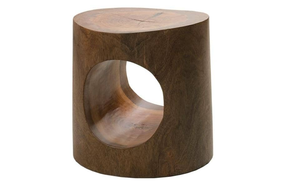Contemporary Reclaimed Wood Side Table