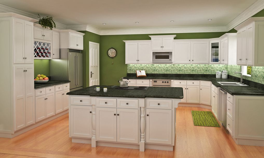 Contemporary Shaker Style Kitchen Cabinets