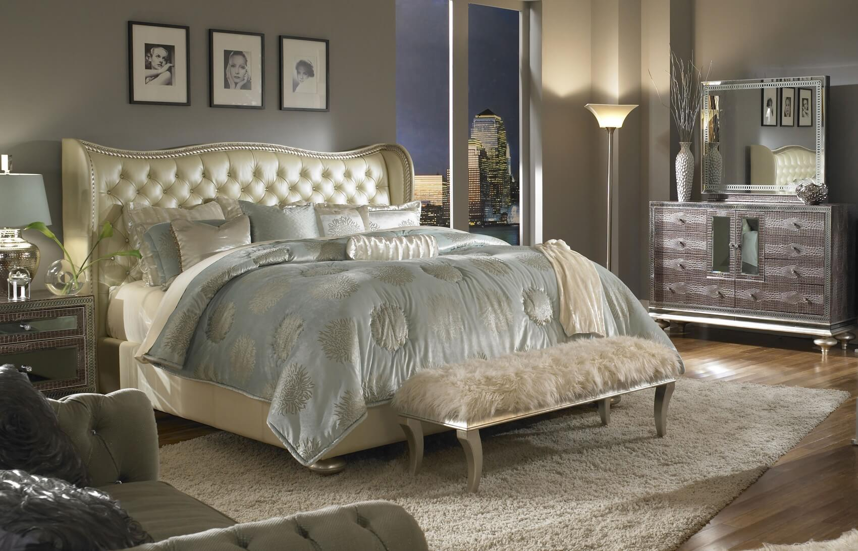 Contemporary Tufted Headboard