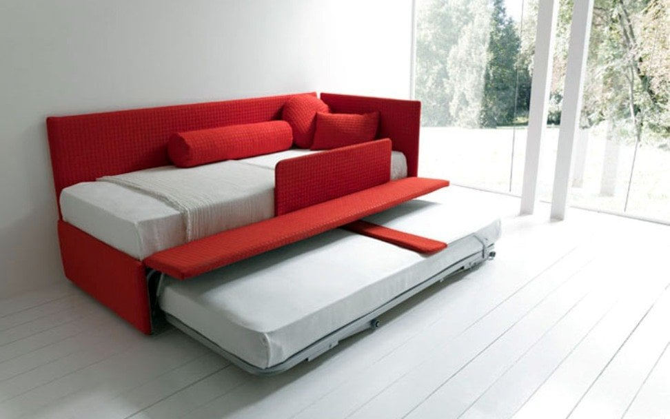 Contemporary Sleeper Sofa Bed
