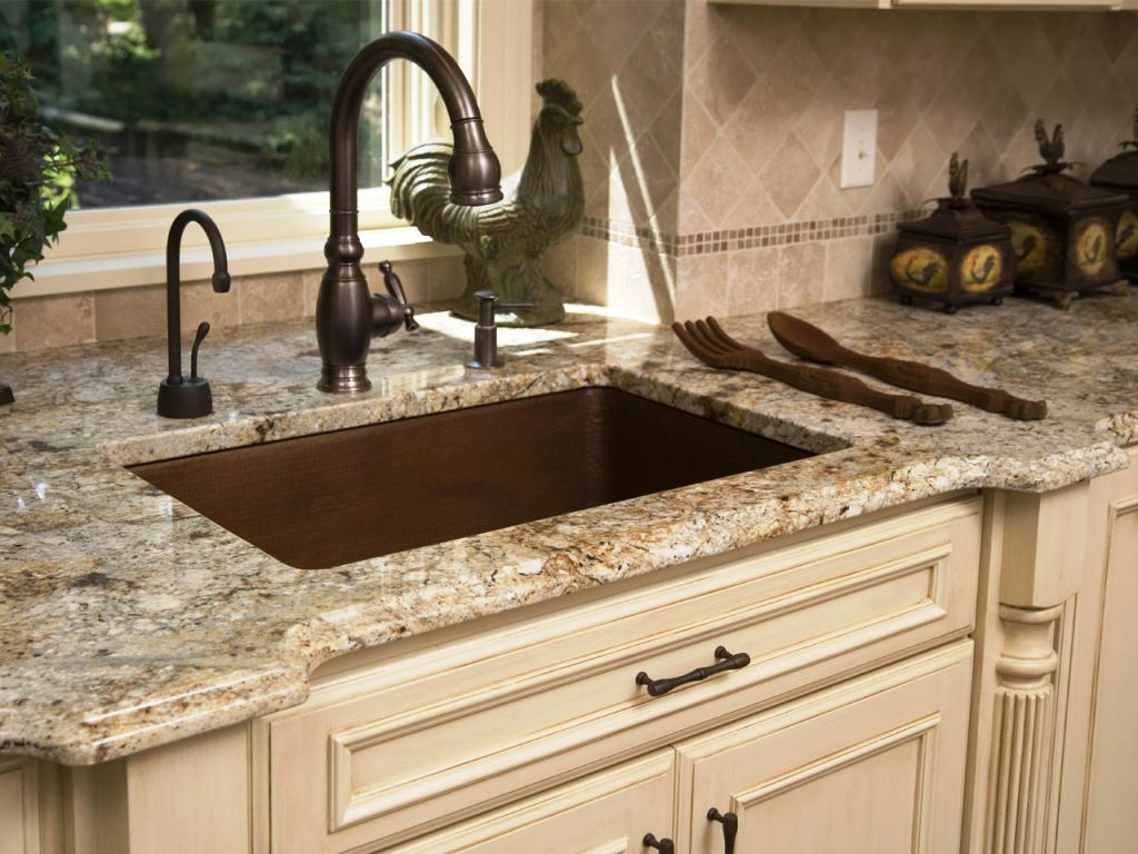 Copper Kitchen Sinks And Faucets