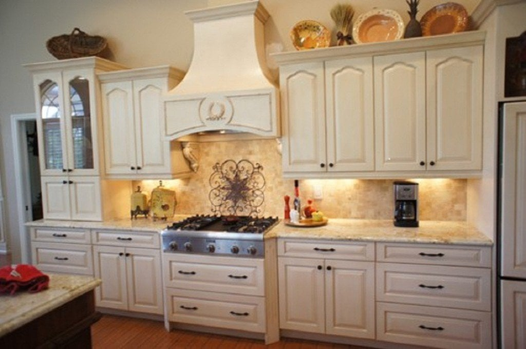 Cottage Refinish Kitchen Cabinets