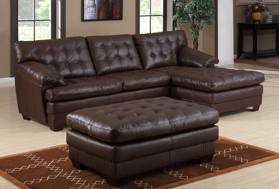 Design Sectional Leather Sofas