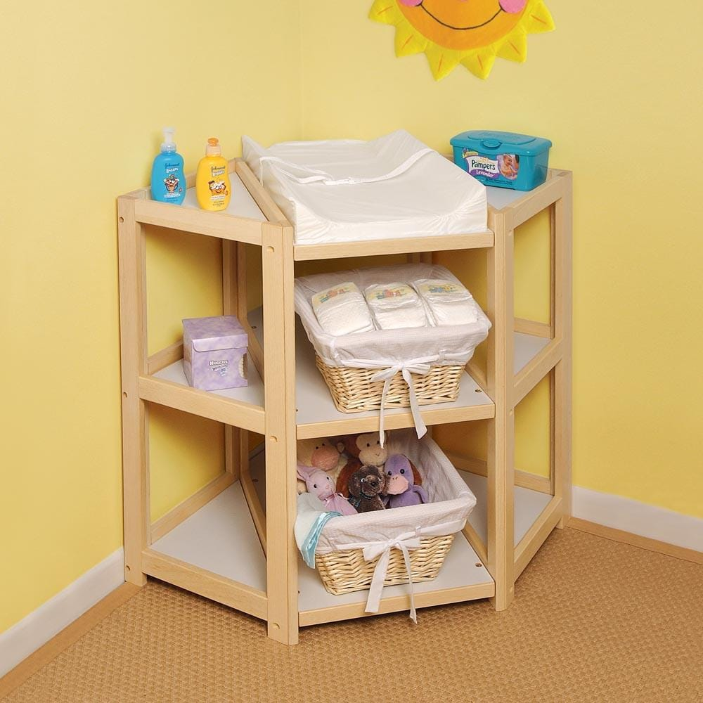 Diaper Changing Table With Stairs