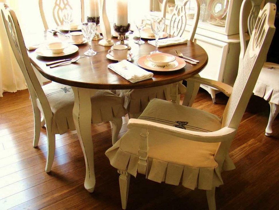 Dining Room Chair Slipcovers Ideas