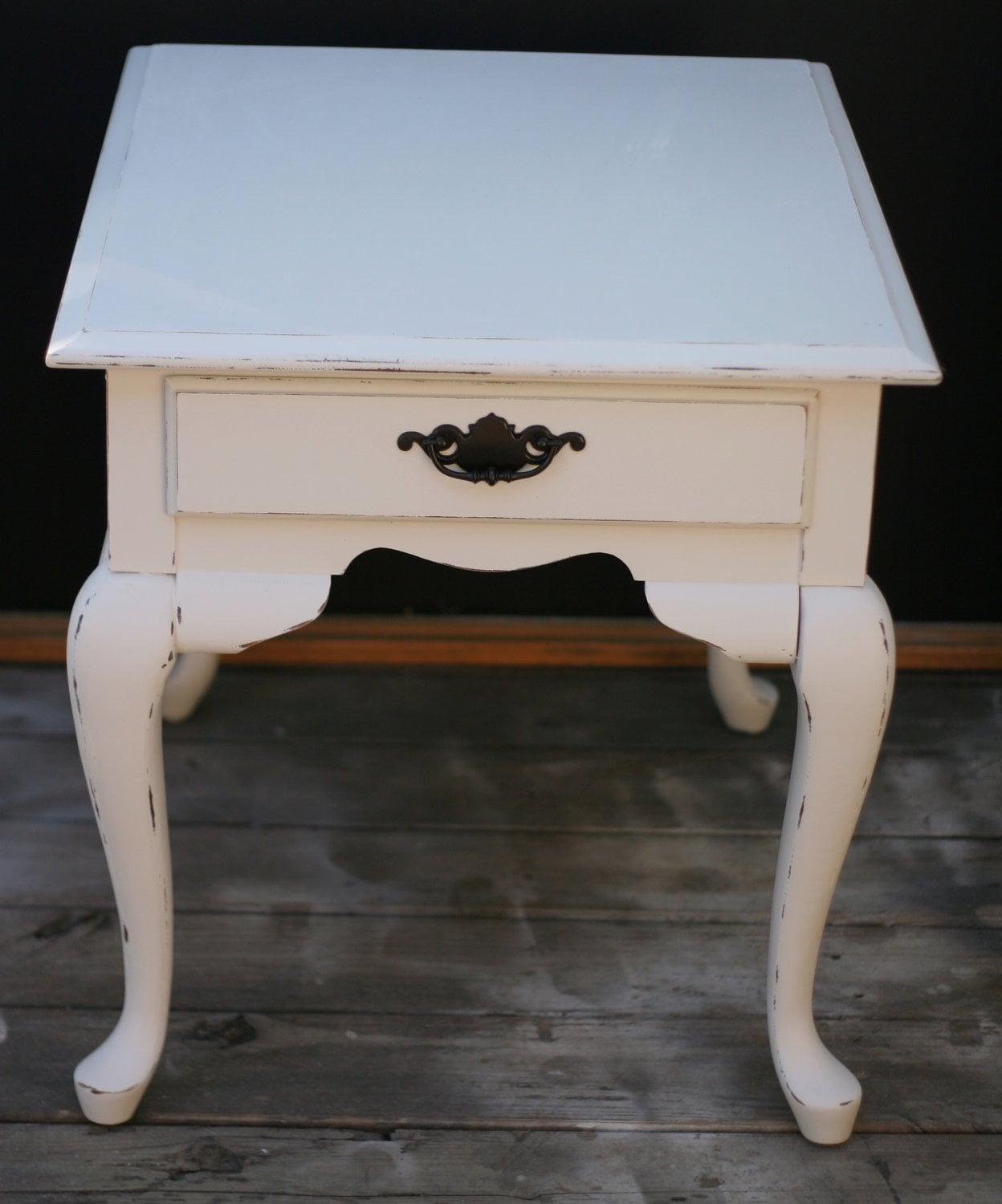 Distressed End Tables Pine