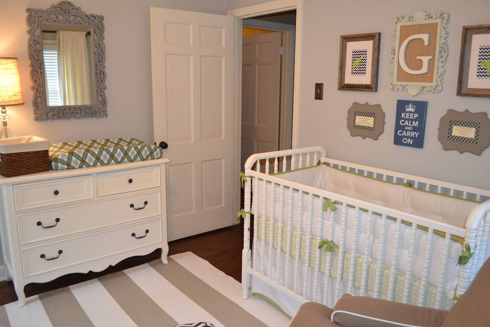 Dresser With Changing Table