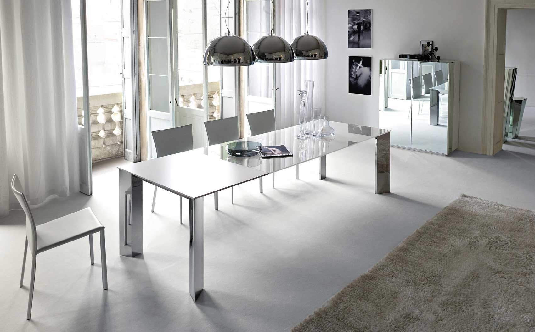 Elegant How To Elegant Mirrored Dining Table