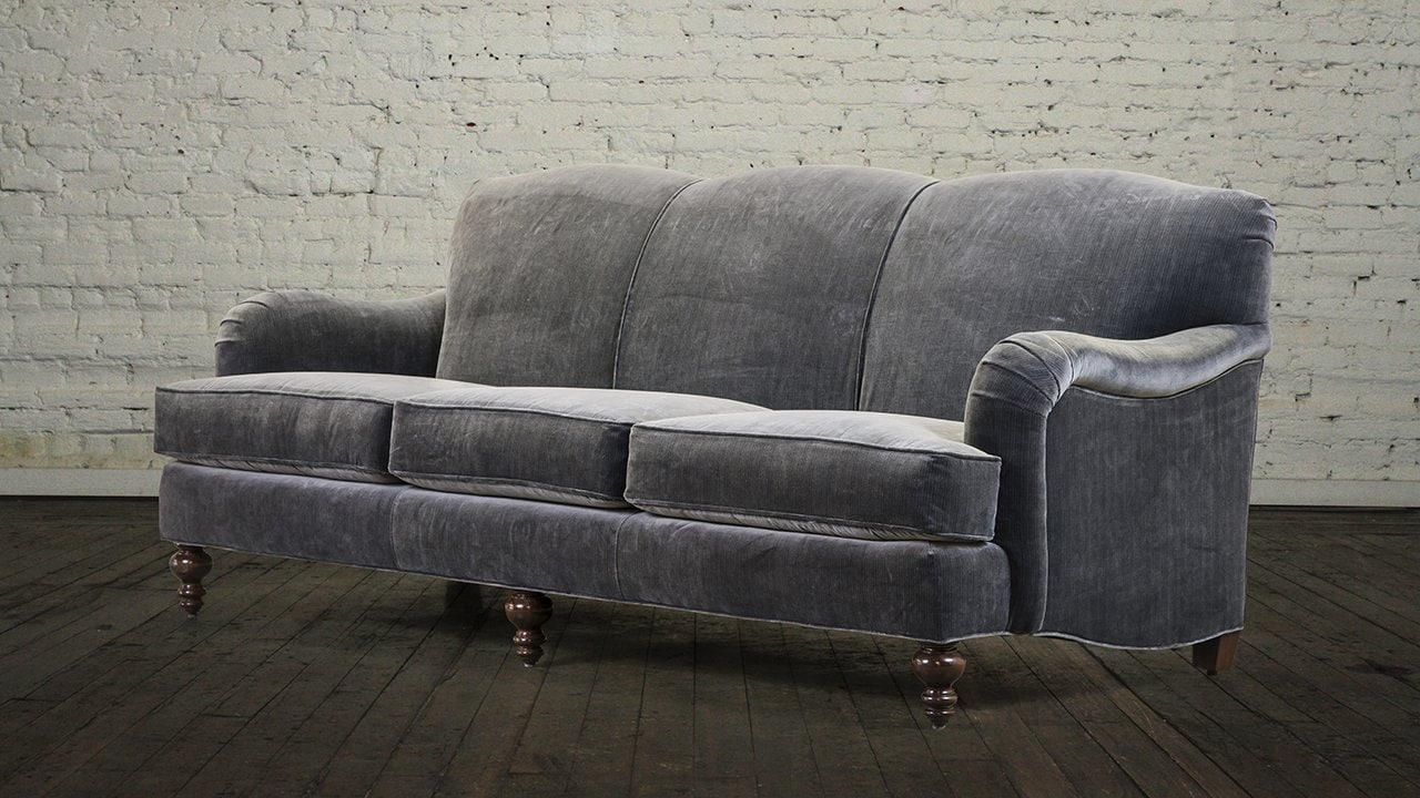 English Couch Roll Arm Loccie Better Homes Gardens Ideas