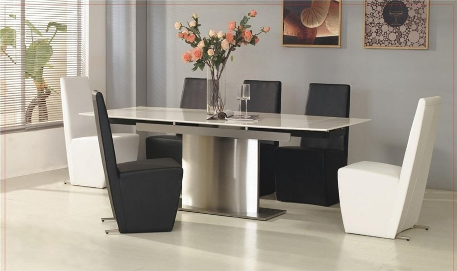 Extendable Dining Table Decorative